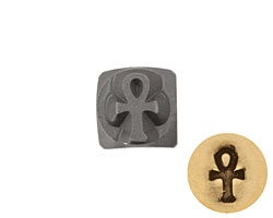 Ankh Metal Stamp 5mm