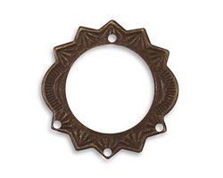 Vintaj Natural Brass Sunburst Chandelier 27.5mm