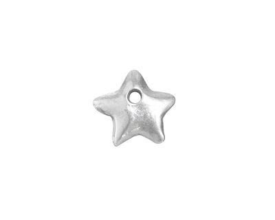Greek Pewter Star Charm 12mm