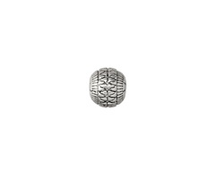 Zola Elements Antique Silver (plated) Basket Round 9mm
