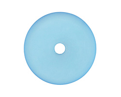 Turquoise Bay Recycled Glass Donut 40mm