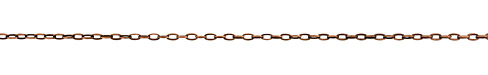 Antique Copper (plated) Drawn Cable Chain
