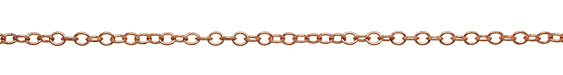 Rose Gold (plated) Oval Cable Chain
