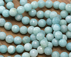 Amazonite Faceted Round 10mm