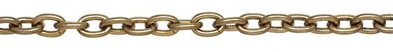 Antique Gold (plated) Large Cable Chain
