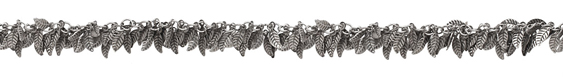 Antique Silver (plated) Falling Leaves Chain