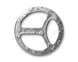 TierraCast Antique Pewter (plated) Tribuckle 28mm