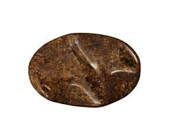 Bronzite Wavy Oval 30x21mm