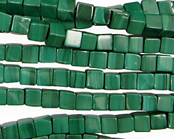 Malachite Cube 5mm