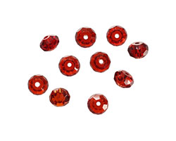 Salsa Faceted Rondelle 4x6mm
