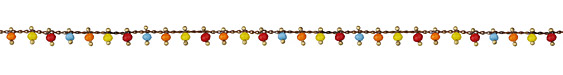 Zola Elements Vintage Multi Color Crystal Drops Brass Chain