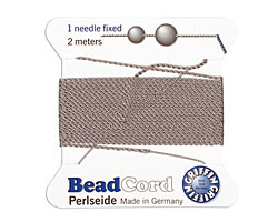Grey Griffin Nylon Beading Cord Size 8, 2 meters