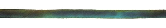 "Peacock Hand Dyed 100% Silk Ribbon 7/16"""