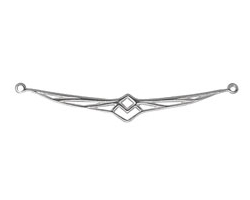 Amoracast Sterling Silver Firebird Connector 53x7mm