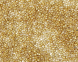 TOHO Permanent Galvanized Starlight Round 15/0 Seed Bead