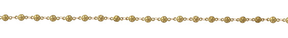 Zola Elements Star Coin Link Brass Chain