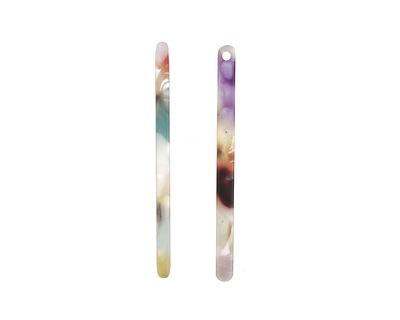 Zola Elements Garden Party Matte Acetate Stick Drop 3x39mm