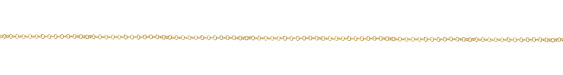 Hamilton Gold (plated) Tiny Double Rollo Chain 25' spool
