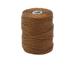 C-Lon Chestnut Tex 400 (1mm) Bead Cord