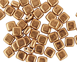 CzechMates Glass Bronze 2-Hole Tile 6mm