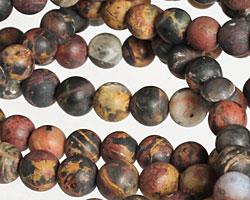Pilbara Jasper (matte) Round 5-7mm