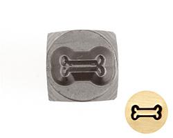Dog Bone Metal Stamp 5mm