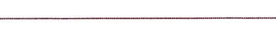 WireLace Merlot Ribbon 1mm
