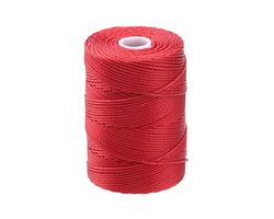 C-Lon Shanghai Red (.5mm) Bead Cord