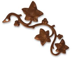 Vintaj Artisan Copper Craftsman Vine Pendant 27x50mm