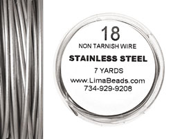 Parawire Stainless Steel 18 gauge, 7 yards