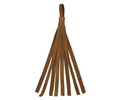 Camel Small Suede Tassel