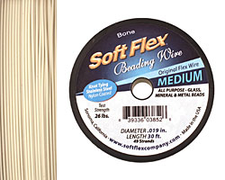 "Soft Flex Bone .019"" (Medium) 49 Strand Wire 30ft."