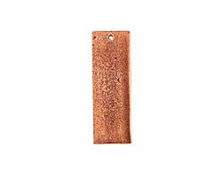 Nunn Design Antique Copper (plated) Flat Grande Thin Tag 13x37mm