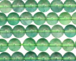 Green Fluorite (A) Round 8mm