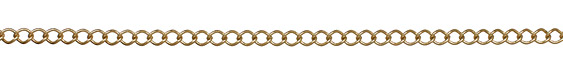 Gold (plated) Curb Link Chain