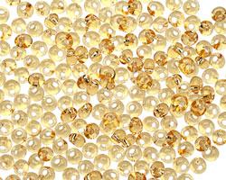 TOHO Light Topaz (with Silver Lining) Magatama 3mm Seed Bead