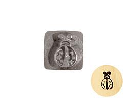 Lady Bug Metal Stamp 5mm