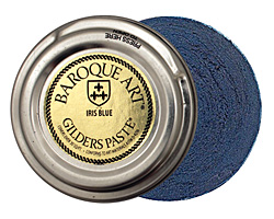 Iris Blue Baroque Art Gilders Paste 30ml
