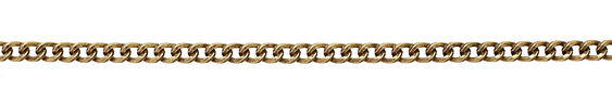 Antique Gold (plated) Heavy Curb Chain
