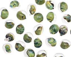 Unicorne Beads Olivegreen Mini Teardrop 5x7mm