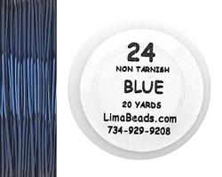 Parawire Blue 24 Gauge, 20 Yards
