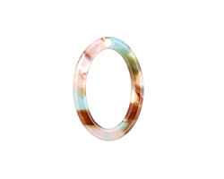 Zola Elements Mermaid Acetate Oval Ring 15x22mm