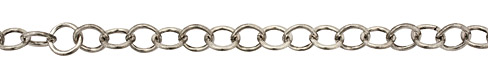 Antique Silver (plated) Cable Chain