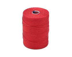 C-Lon Shanghai Red Fine Weight (.4mm) Bead Cord