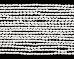 Pearly White Rice 2mm