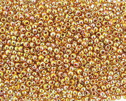 TOHO Galvanized Midas Gold Round 11/0 Seed Bead