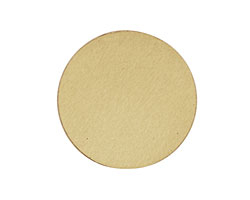 Lillypilly Gold Anodized Aluminum Disc 25mm, 22 gauge