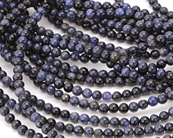 Dumortierite Round 4mm
