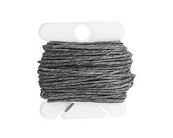 Slate Grey Irish Waxed Linen 7 ply