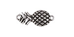 Zola Elements Antique Silver Finish Pineapple Focal Link 26x11mm